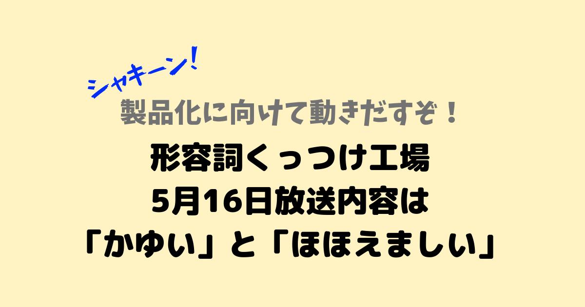 シャキーン!5_16