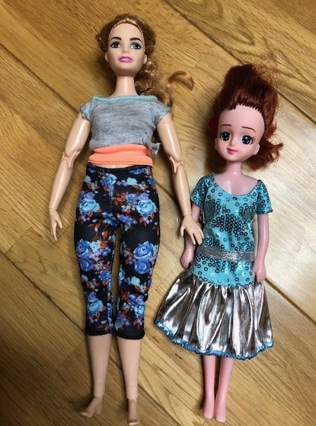 エリーとバービー