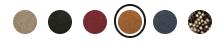 GUフラットパンプス色