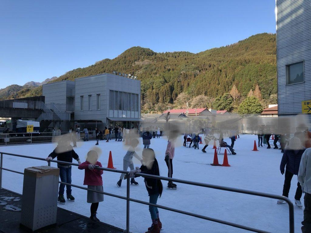 大分県中津市山国町のアイススケート