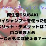 資生堂TSUBAKIドライシャンプー