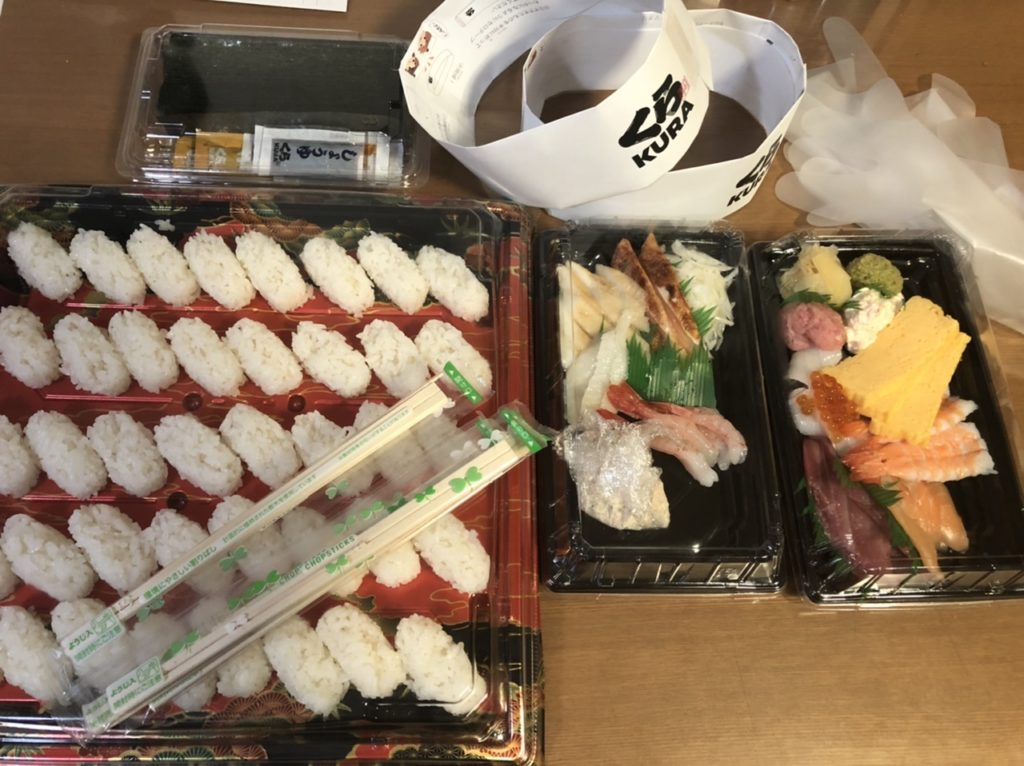 くら寿司のおうちで握りセット