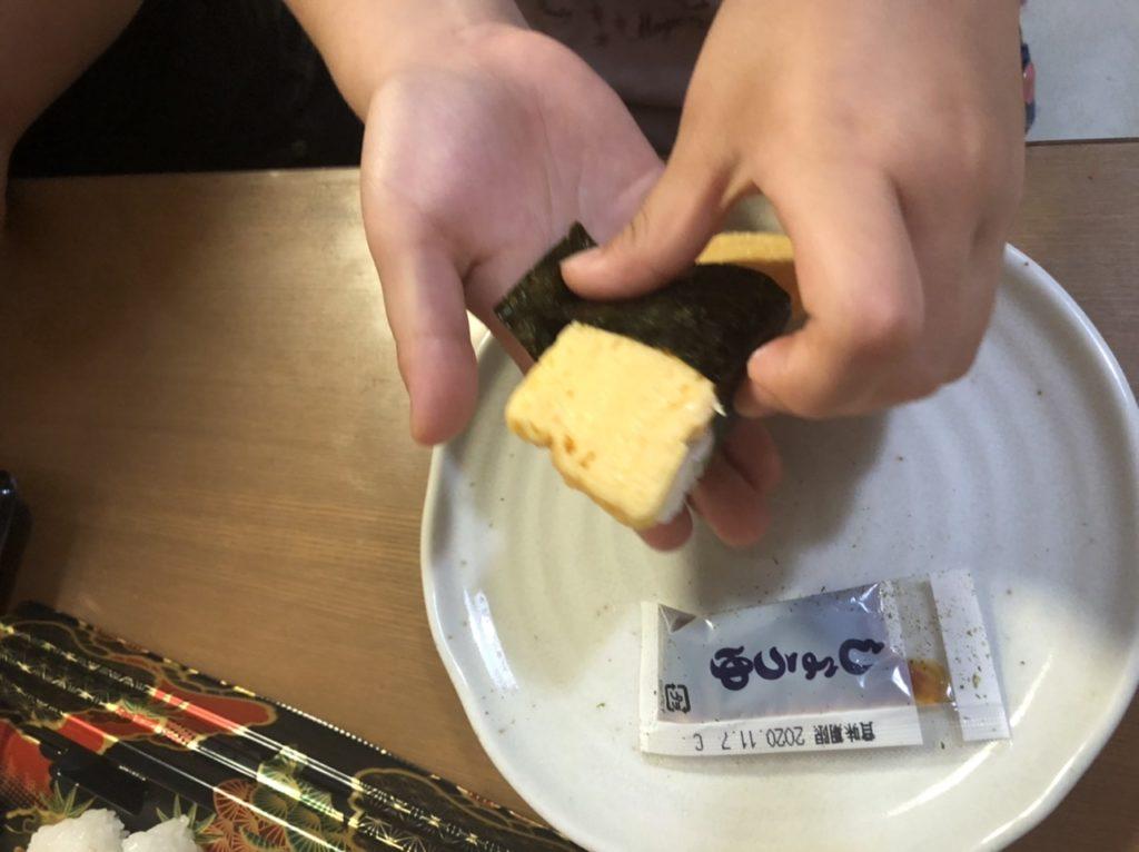 くら寿司のおうちで握り寿司セット