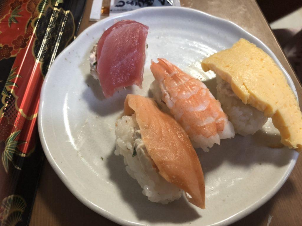 くら寿司の握りセット