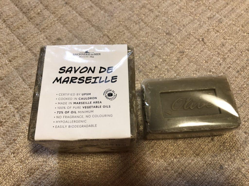 ダイソー・マルセイユ石鹸