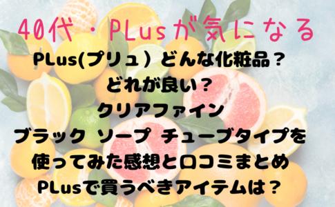 PLusのアイテム買うべきは?